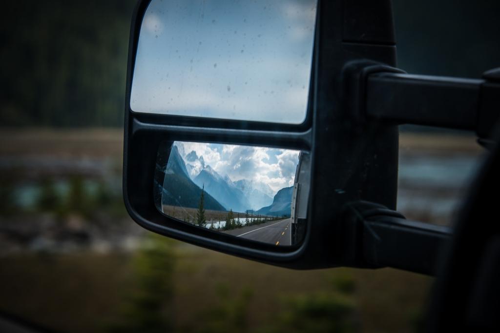 car_mirror_icefields_parkway_banff_jasper_alberta_canada_2153