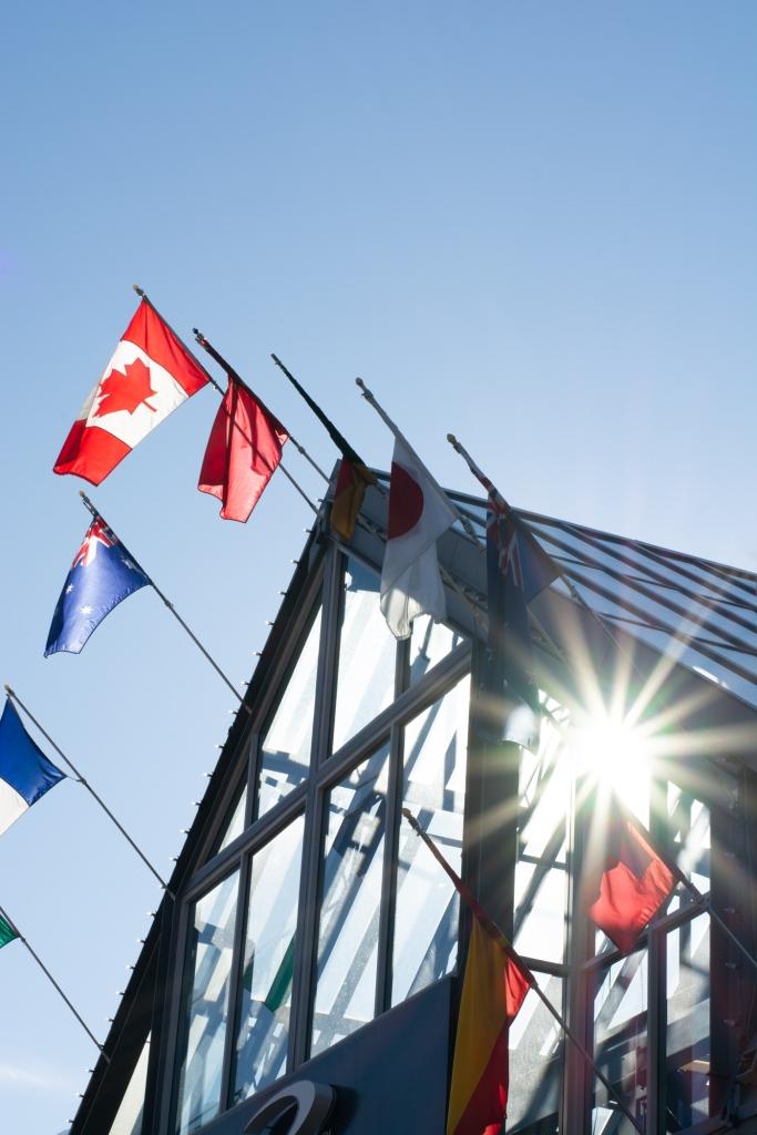 whistler-bc-flags-sun